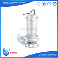 Centrifugal Pump Theory Submersible stainless steel sewage pumps