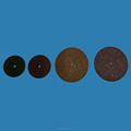 dental fibre discs for cutting and polishing