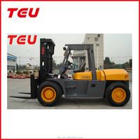 Factory supply low/cheap price high quality diesel forklift 10T