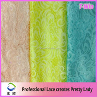 2015 New Style Lace Fabric voile lace fabric pack in roll