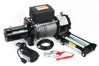 16,800LB 12V Electric Capstan Winch for 4X4 Vehicle