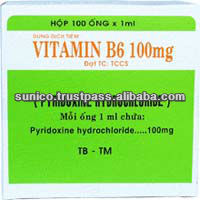 Vitamin B6 (injection) 100amples/45 boxes