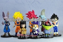 wholesale Small Versions Of Dragon Ball Z manga toys action figure