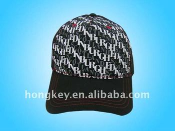 5-panel adjustable printing cap