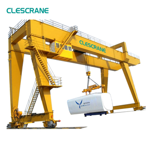 Rubber Tyre a-Frame Mechanical Containers Gantry Crane 25t 40 Ton 50t Diagram Price