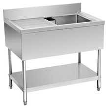 Industry kitchen stainless steel single sink/ washing table/ dishwasher table BN-S21