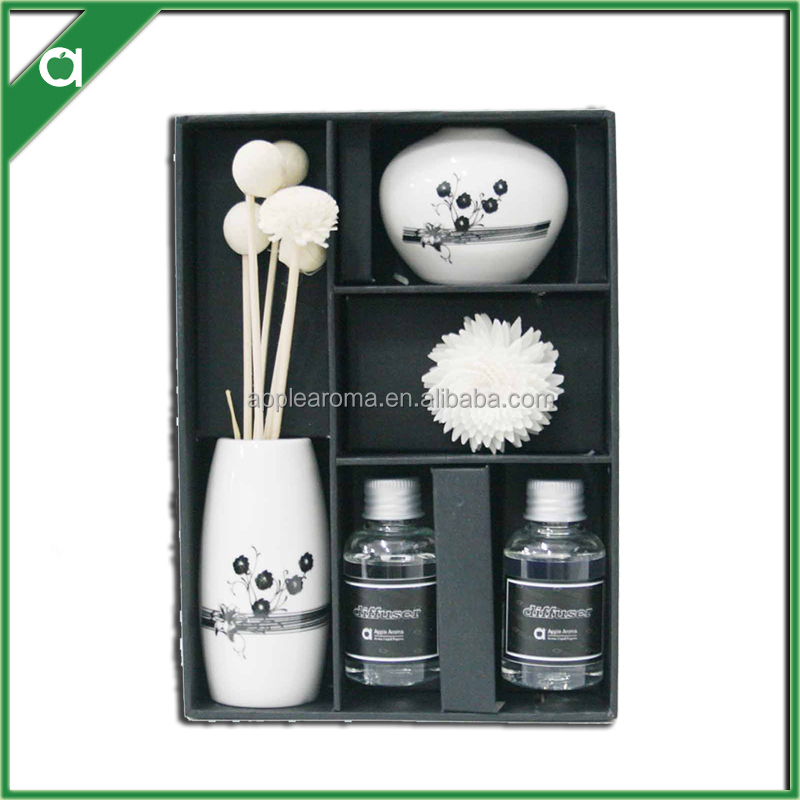 wholesale aromatherapy wooden diffusers gift set