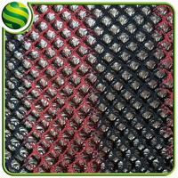 strip mixed colors 100% polyester 7mm 3d spacer mesh fabric for motorcycle seat cover,foot pad material