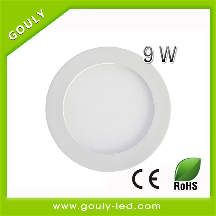 round led panel video light 9w panels led light 2835smd AC85-265V