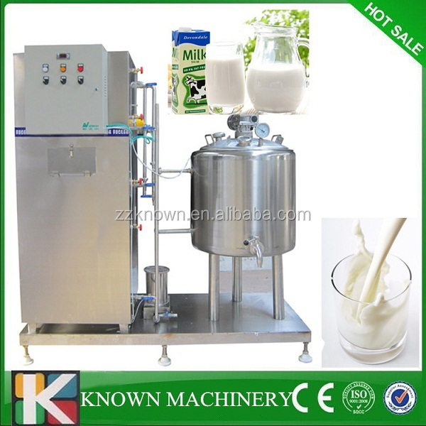 Healthy stainless steel Fresh milk pasturizing machine,small milk pasteurization machine