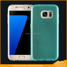 Crystal Slim Highly Durable TPU Mobile Cover for Samsung S7 Shock-Absorption case