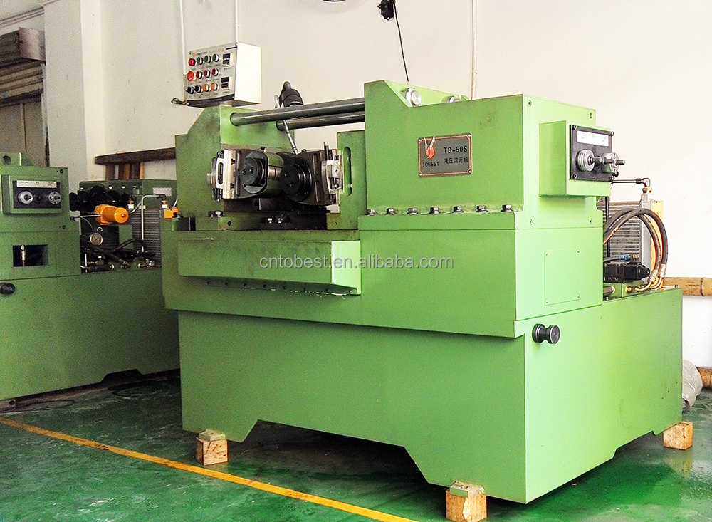 hydraulic nuts and bolts making machine  thread rolling machine