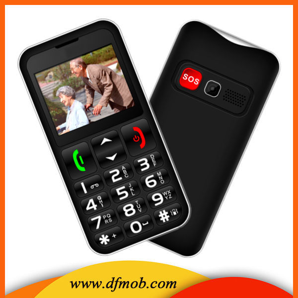 Senior Cell Phone, SIMPLE and Easy to Use, SOS Button, Hearing Aid Compatible, UNLOCKED GSM For Elderly T11