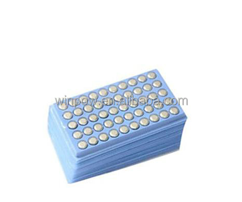0%HG 1.5v watch battery AG10 LR1130 alkaline button cell