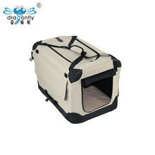 High Quality Wholesale Easy pet dogs Plastic Pet Carrier Cage For Travel