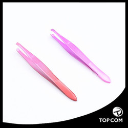 Slant Tweezers Professional Stainless Steel Slant Tip Tweezer The Best Precision Eyebrow Tweezers
