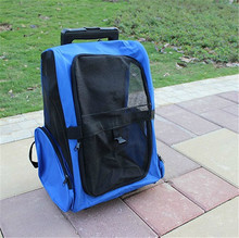 Osgoodway China Factory Direct Sale Pet Dog Crates With Wheels Pet Trolley Backpack bags