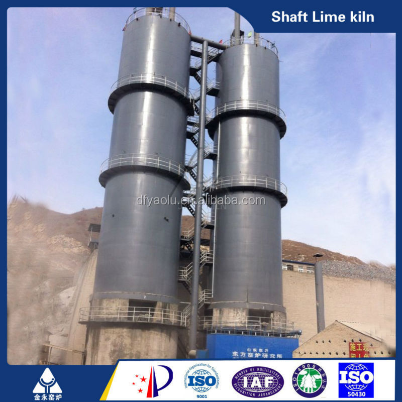 Calcium oxide production line equipment kiln lime kiln silica refractory mortar