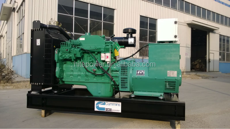 Dong feng cummins latest style open type cummins 230 kva generator