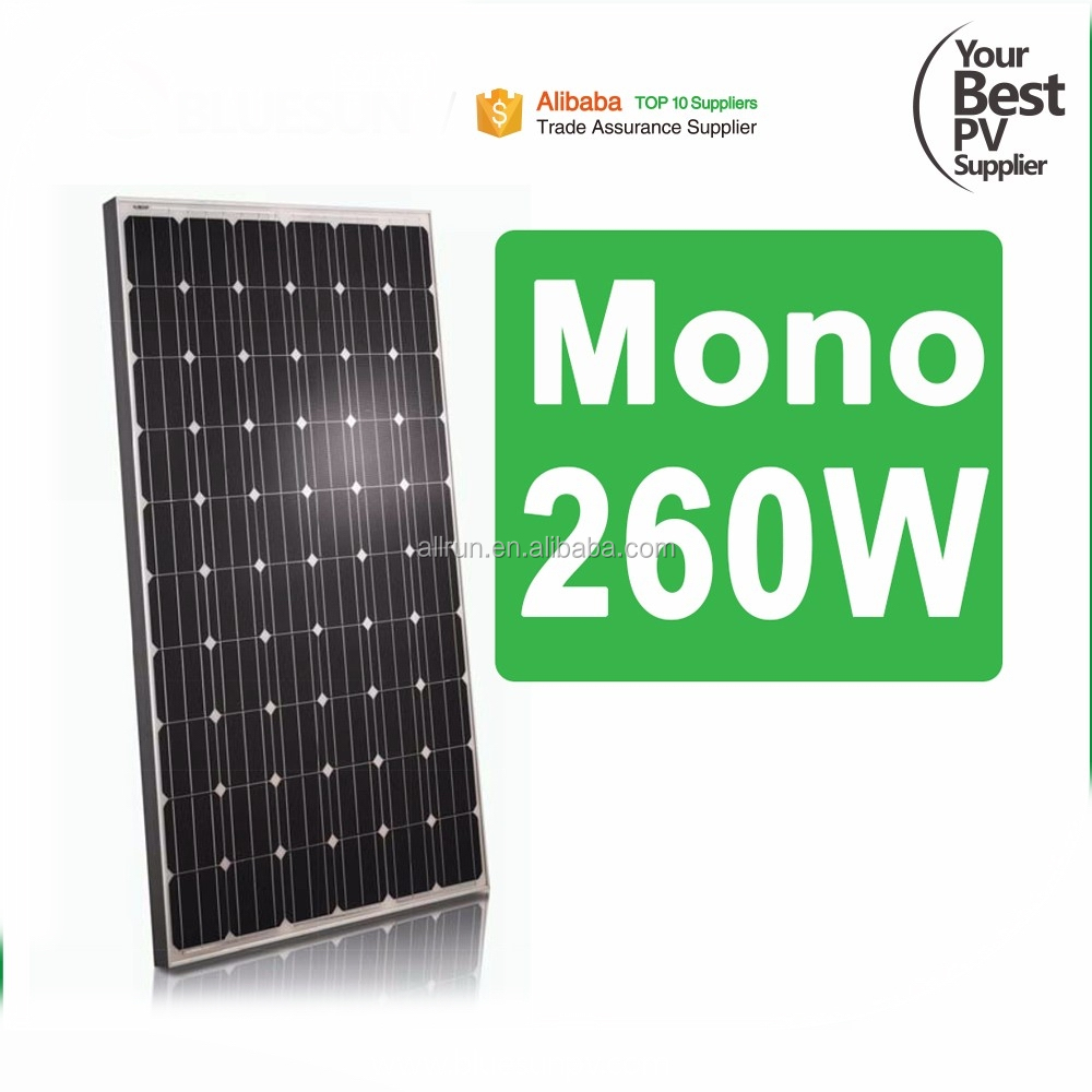Poly MONO 250W 260W 270W Solar panel 220V 230V 240V 120V AC solar module with micro inverter