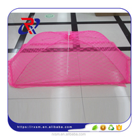 Lace cover mosquito net folded rectangular prevent flies table cover mosquito net