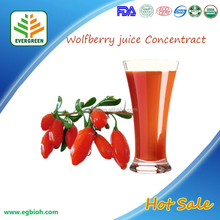 Bulk Price goji berry juice / concentrate wolfberry juice