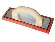 construction red rubber grout float trowel