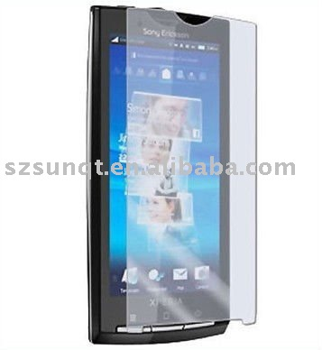 Clear Screen protector for Sony Ericsson Xperia X10