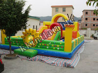 big outdoor inflatable fun city price for rentals KKA-L036