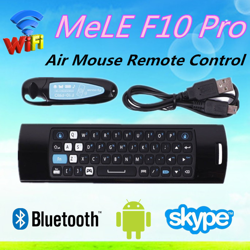 dragonworth MELE F10 PRO Air Mouse 2.4Ghz Wireless Receiver IR Remote Control For M M8 android tv bo