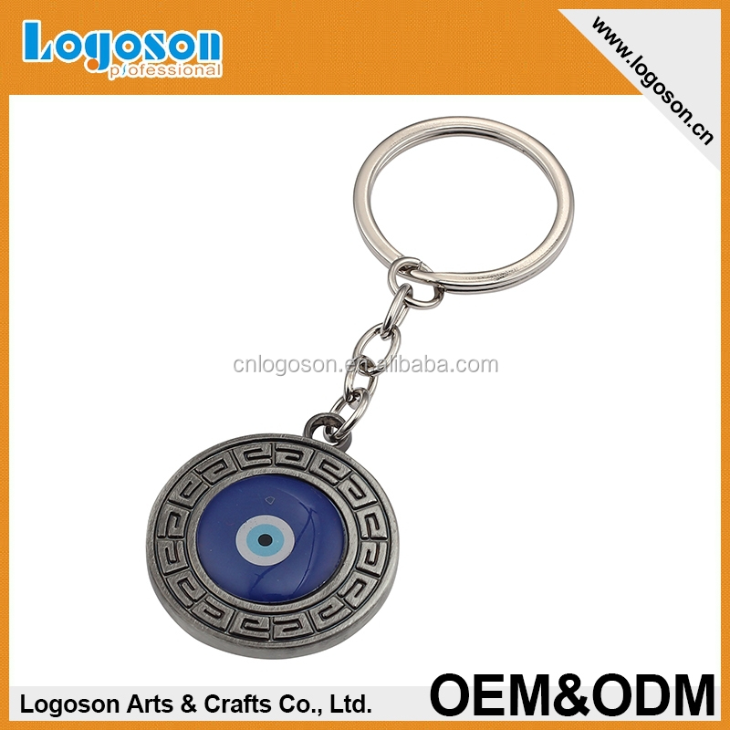 New tourist promotional gifts novelty souvenirs custom key finder muslim keychain