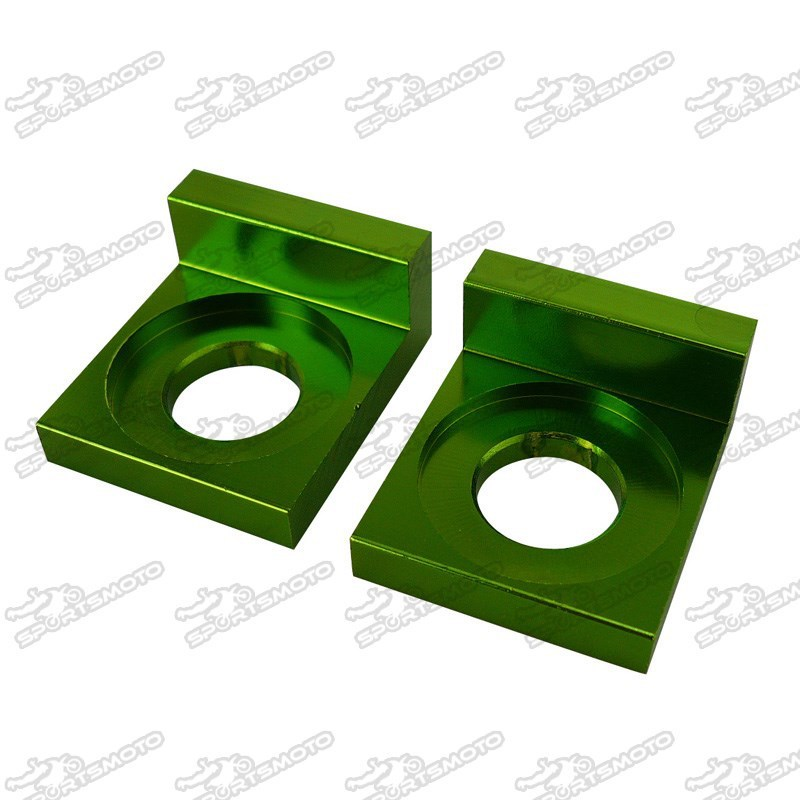 12mm or 15mm CNC Aluminum Chain Adjuster Block For Chinese Pit Dirt Bike