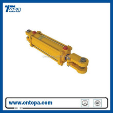 China manufacturer multistage telescopic double acting tailgate hydraulic cylinder