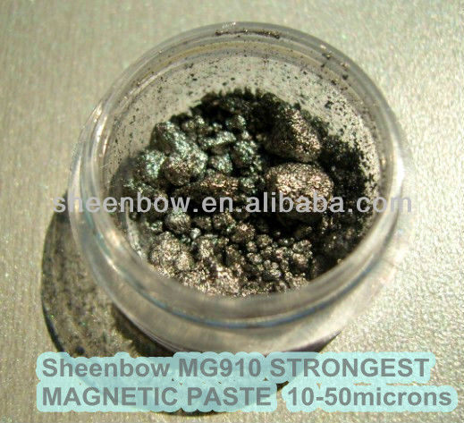 Sheenbow MG910 Silver grey magnetic Iron Paste