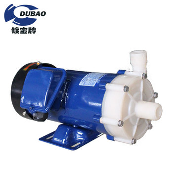 PVDF acid-base resistance corrosion resisting magnetic pump for electroplating chemical liquid circulation