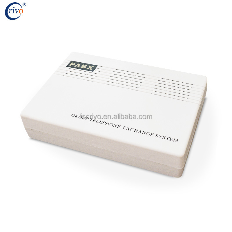 CRIVO PABX Manufacturer /BEST PRICE AND QUALITY intercom PBX MP208 2 CO line 8 extension