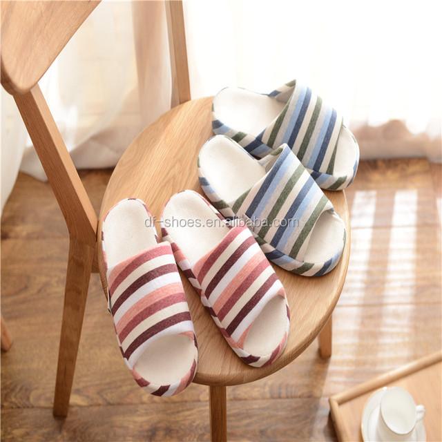2017 new design korea winter kids slippers