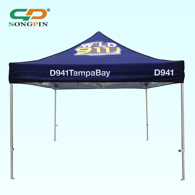 wholesale price 3*3 <strong>trade</strong> show outdoor advertising aluminum frame folding tent for sale