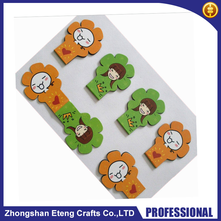Fashion custom cartoon cute design paper bookmark,paper bookmarks to decorate