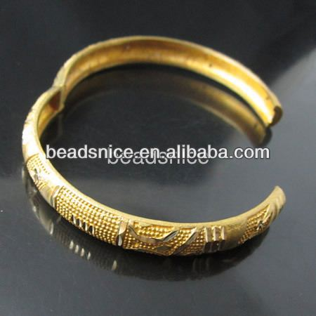 Beadsnice Brass base round thinese:8mm jewellery vners handcuff bracelet