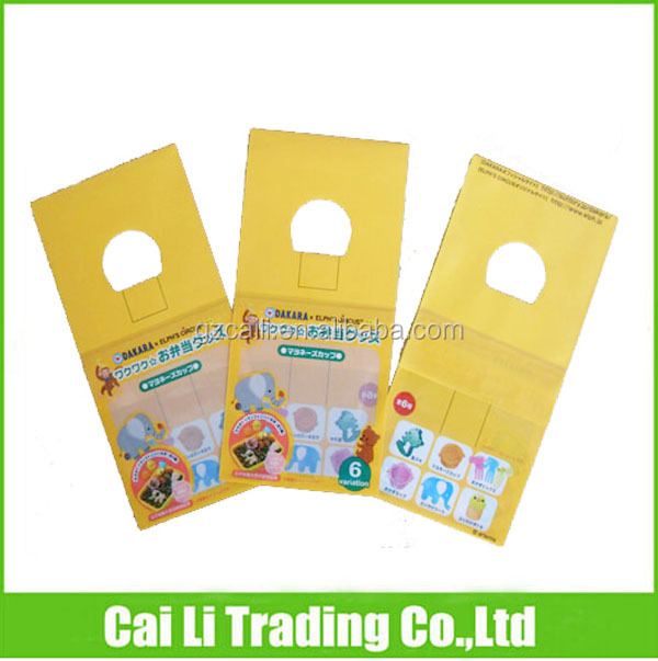 oem customed cardboard header promotional gifts bag