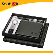 Leather Gift items with Pu gift box for promotional market