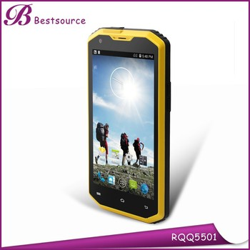 Top selling products 5.5inch Android 4.4 dual sim IP68 waterproof dustproof shockproof NFC 4g rugged mobile phone
