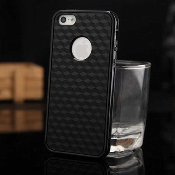 Hybrid good quality plastic tpu case for iphone 5 5s