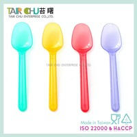 Plastic Ice Cream Spoon