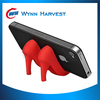 High heel mobile phone stand,silicone mobile phone holder,mobile phone display stand