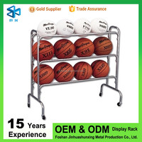 Hot selling products of metal display stand for basketball stand volleyball stands