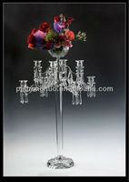 tall crystal candle stand & flower standSH-057B