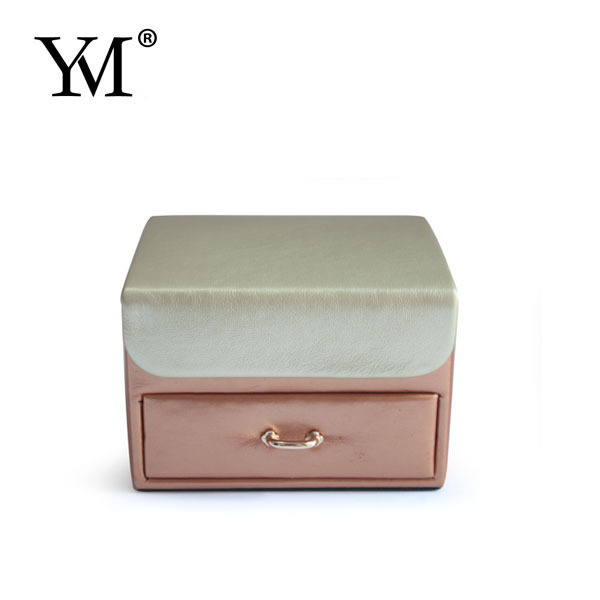 2015 beauty pu luxury jewelry case and boxes