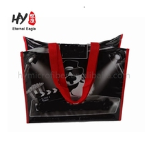 HIT recycle colourful durable advertising beauty pembekal foldable rpet non woven shopping bag
